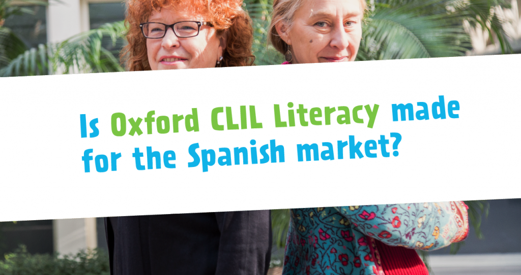 Is Oxford CLIL Literacy made for the Spanish market?